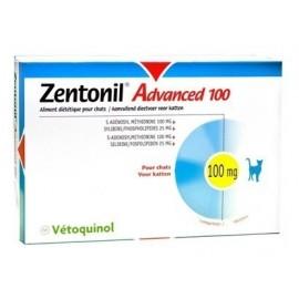 Zentonil Advanced suplemento para la función hepática para perros y gatos 100 gr.