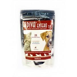 Adiva Entero 15 protector intestinal para perros 28 premios
