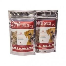 Adiva Entero 7,5 protector intestinal para perros y gatos 28 premios