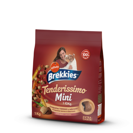Brekkies Tenderissimo Mini 1 kg.