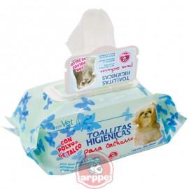 Toallitas higiénicas para cachorros