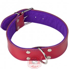 Collar de cuero SUPERFELT COLOR