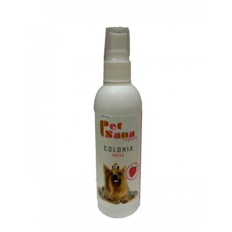 Colonia de Fresa para perros PetSana 125 ml.