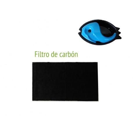 Filtro de carbón para fuente de mascotas