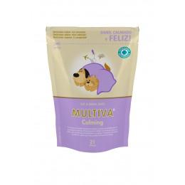 Multiva Calming tranquilizante para gato y perro pequeño 21 comprimidos masticables