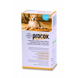 Procox suspensión oral 7,5 ml.
