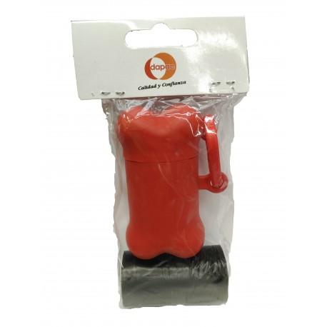 Pack dispensador de bolsas + 2 rollos
