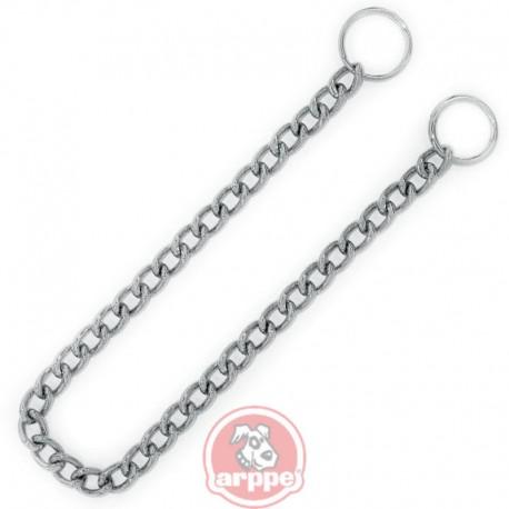 collar cadena limada