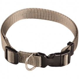 Collar de Nylon Regulable Beige