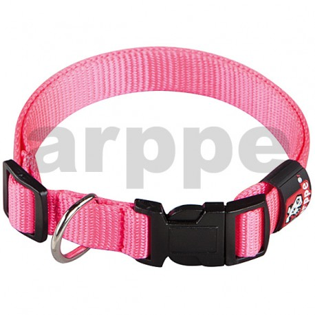 Collar regulable basic rosa