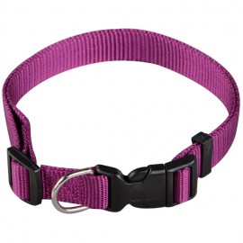 Collar regulable basic morado