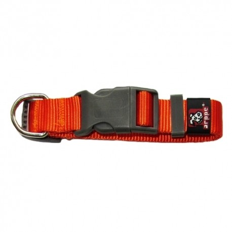 Collar de Nylon Regulable Naranja
