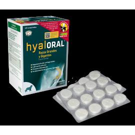 Hyaloral cuidado osteoarticular para peros razas grandes y gigantes 120 comprimidos