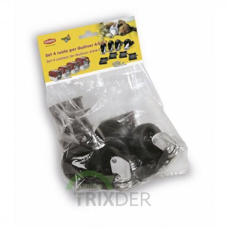 Pack 4 ruedas transportines Gulliver IATA