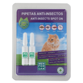 Pipetas anti-insectos para gatos