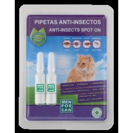 Menforsan Pipetas anti-insectos para gatos
