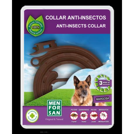 Collar anti-insectos para perros