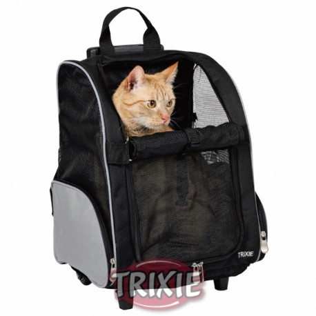 Trolley mochila para mascotas