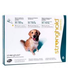 Stronghold 20-40 kg. 6 pipetas