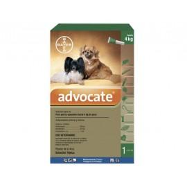 Advocate pipetas para perro 1-4 kg.