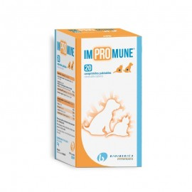 Impromune suplemento vitamínico para ayudar a las defensas de perros y gatos 20/40 comprimidos