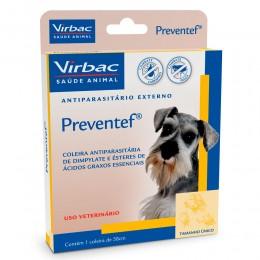 Preventef Collar antiparasitario para perros