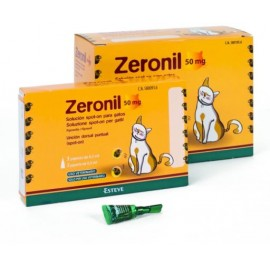 Zeronil pipetas para gatos 50 mg.
