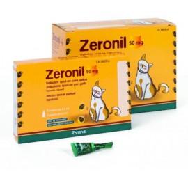 Zeronil pipetas para gatos 50 mg.