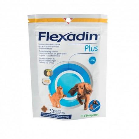 Flexadin Plus perros pequeños y gatos 30 premios
