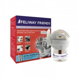 Feliway Friends Difusor + Recambio 48 ml.