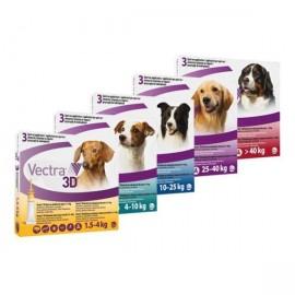 Vectra 3D antiparasitario para perro 3 pipetas