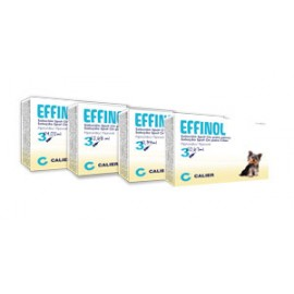 Effinol spot-on perros 3 pipetas