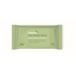 Cutania Skin Control Wipes toallitas dermatológicas para mascotas 24 ud.