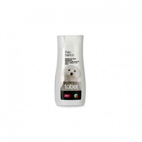 Taberdog champú pelo blanco