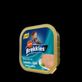 Brekkies excel cat salmón y atún 100 gr.