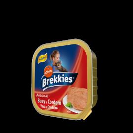 Brekkies Excel Cat Tarrina Buey y Cordero 100 gr.