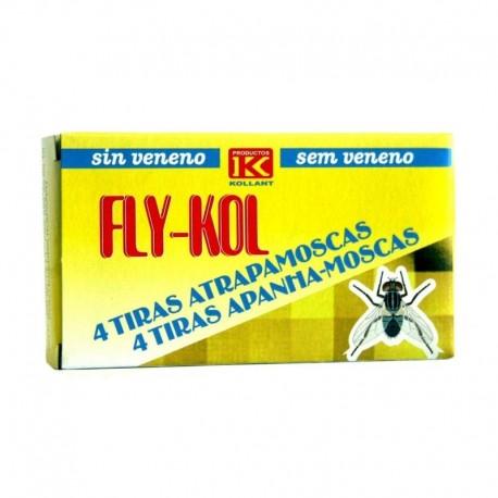 Fly-Kol tiras atrapamoscas