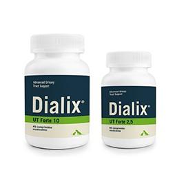 Dialix UT Forte complemento par el tratamiento del tracto urinario en perros y gatos 45/60 comprimidos