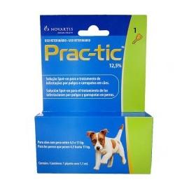 Prac-tic 4,5 a 11 kg. Pipetas antiparasitarias para perros