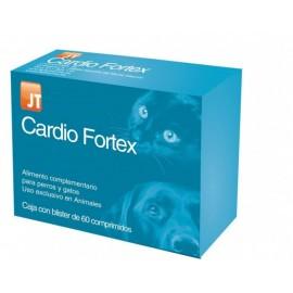 JT Cardio Fortex suplemento nutricional patologías cardíacas para perros y gatos 60 comprimidos