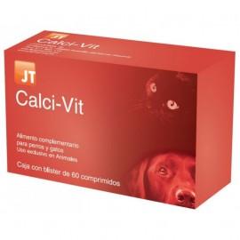 JT Calci-Vit complemento de calcio para perros y gatos 60 comprimidos