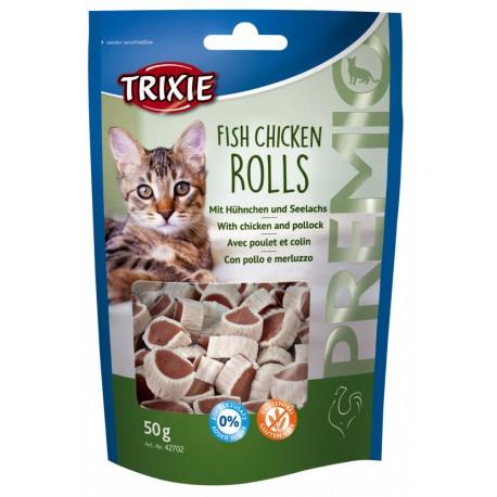 Snack Fish chicken rolls