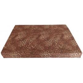 Colchón mascota leopardo