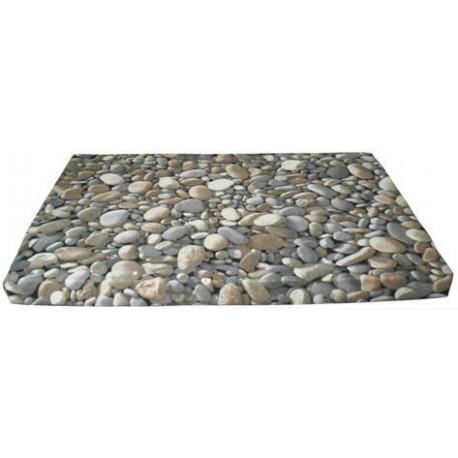 Colchón mascota piedras