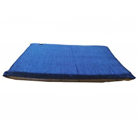 Colchoneta chenilla azul