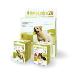 Condroprotector Omnicondro Hifarmax para el desgaste articular en perros y gatos 60/300 comprimidos