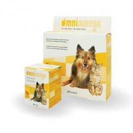 Omniomega Omega 3 suplemento dietético para perros y gatos 120/510 cápsulas