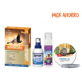 Pack Gatos Advocate Mini