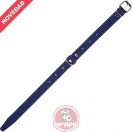 Collar Cuero Forrado Amazone 3D Fornitura Azul
