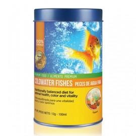 Alimento para peces de agua fria